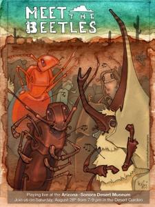 Meet the Beetles poster