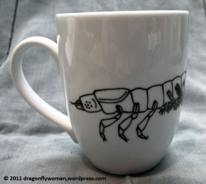 hellgrammite mug