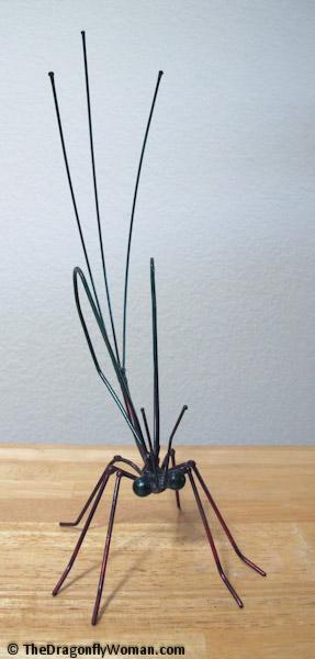 mayfly sculpture