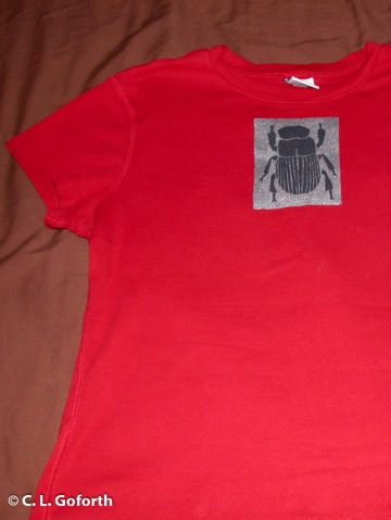 Dung beetle shirt