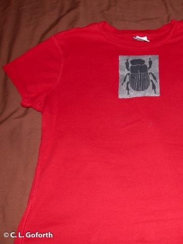 Dung beetle shirt