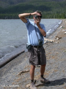 Dad at Shoshone Lake