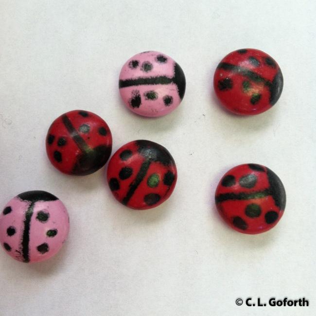 Ladybug candy