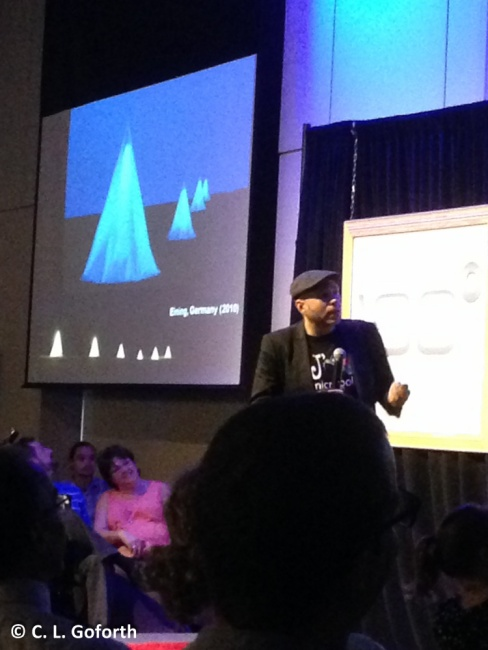 Brandon Ballengee speaking at RTP180